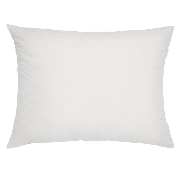 KissenfüllungMikrofaser 60 x 45 cm in weiß von Mika Barr