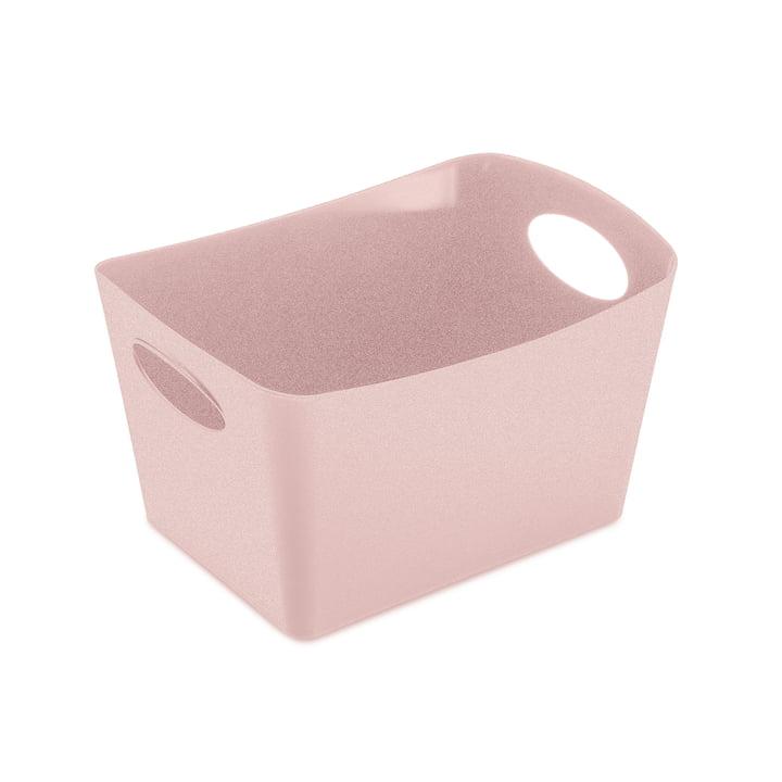 Boxxx S Aufbewahrungsbox in organic pink von Koziol