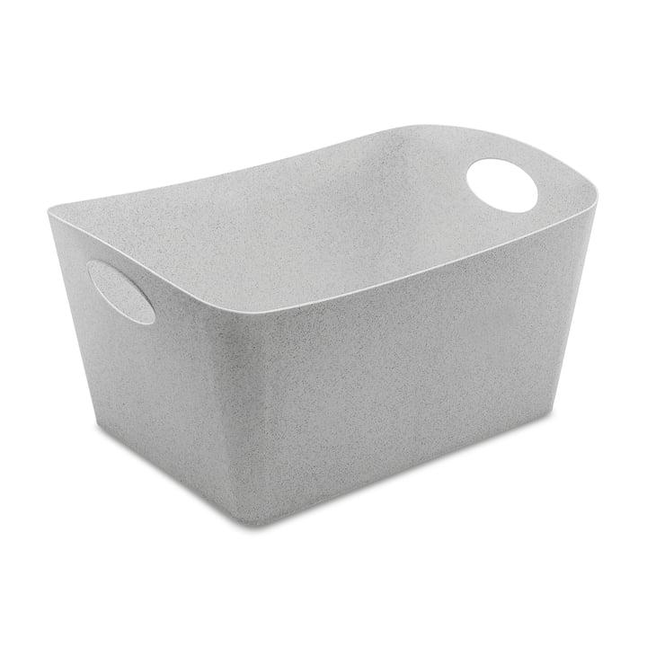 Boxxx L Aufbewahrungsbox in organic grey von Koziol