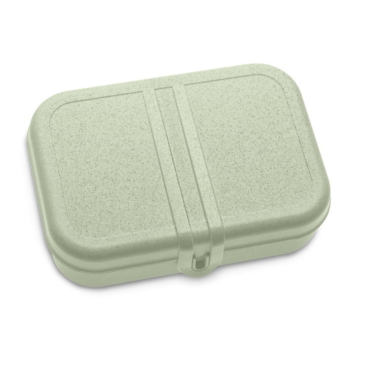 Pascal L Lunchbox mit Trennsteg inorganic green von Koziol