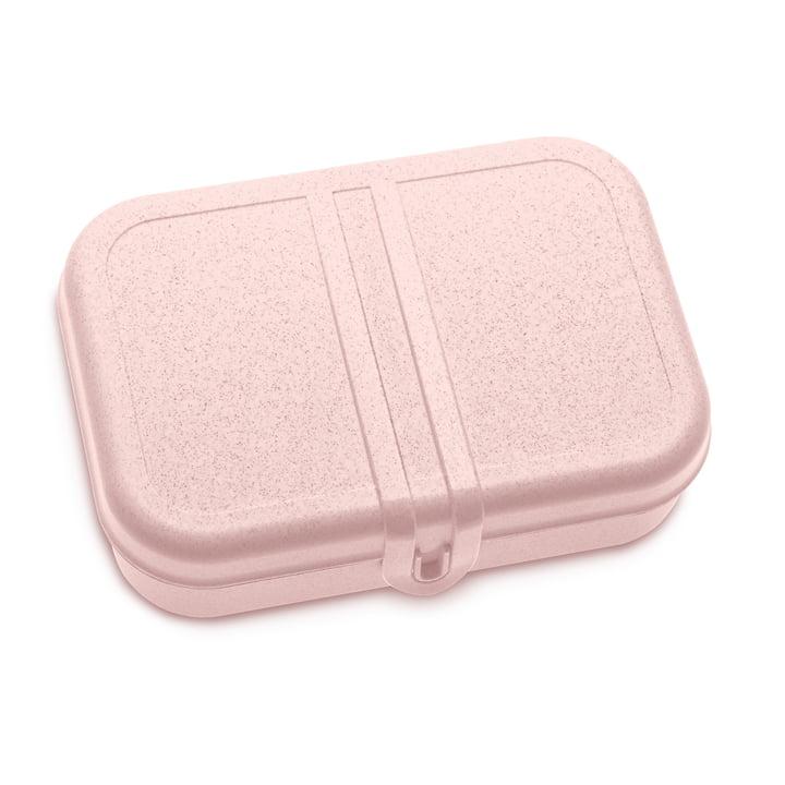 Pascal L Lunchbox mit Trennsteg in organic pink von Koziol