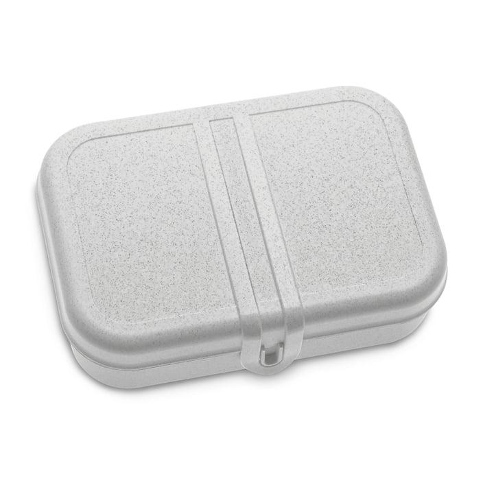 Pascal L Lunchbox mit Trennsteg,organic grey von Koziol