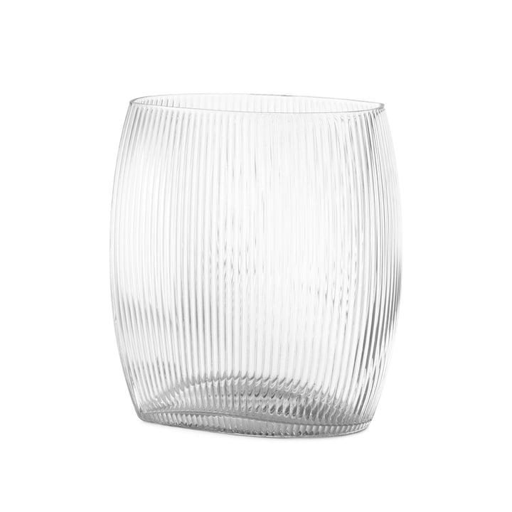 Tide Vase H 18 cm in klar von Normann Copenhagen