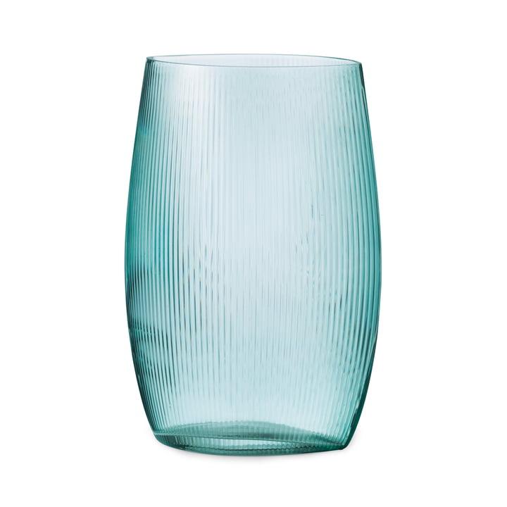 Tide Vase H 28 cm in blau von Normann Copenhagen