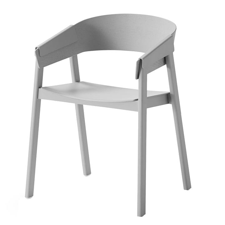 Cover Stuhl von Muuto in grau