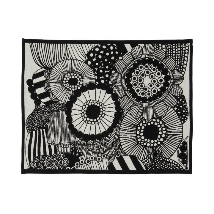 Pieni Siirtolapuutarha Tischset 31 x 42 cm von Marimekko in off-white / schwarz