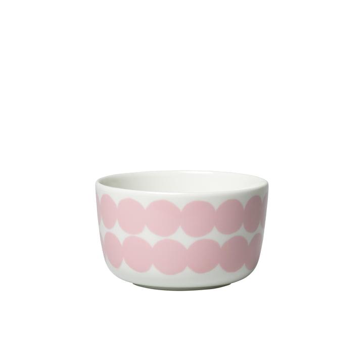 Oiva Siirtolapuutarha Schale 250 ml von Marimekko in weiß / rosa