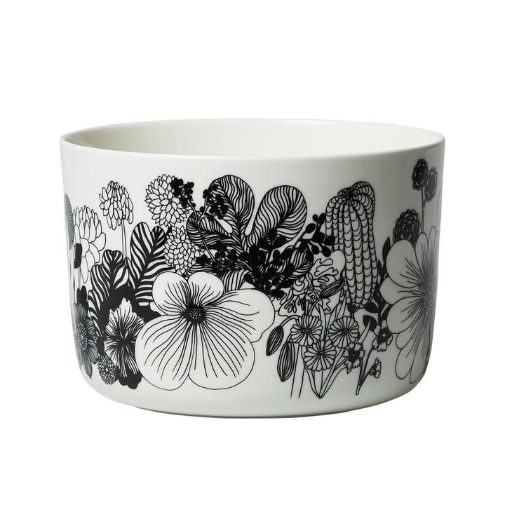 Oiva Siirtolapuutarha Servierschale 3,4 l von Marimekko in weiß / schwarz