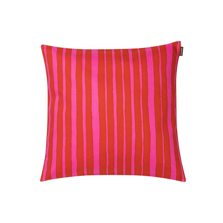 Raide Kissenbezug 40 x 40 cm von Marimekko in rot / pink