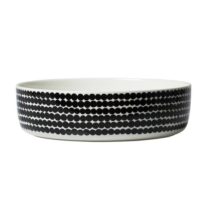 Oiva Räsymatto Schale 3 l von Marimekko in weiß / schwarz