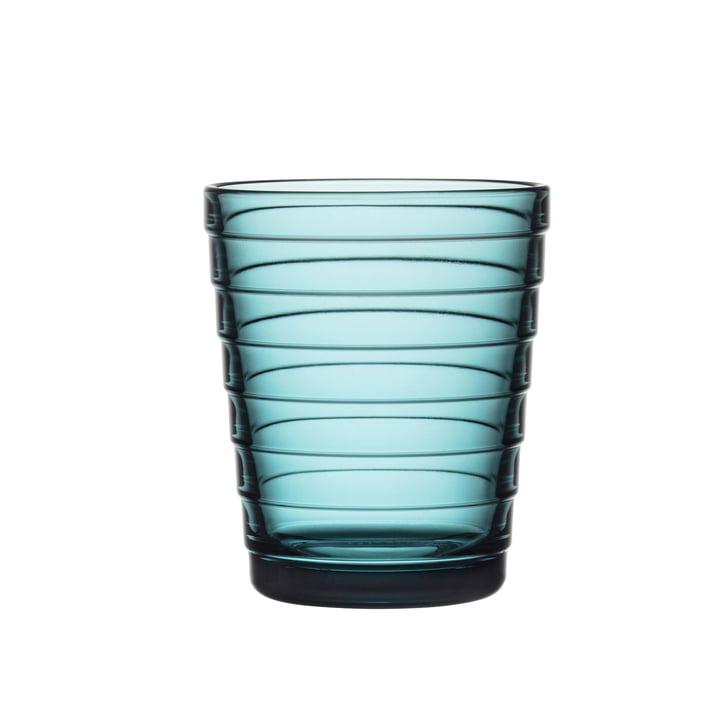 Aino Aalto Glasbecher 22 cl von Iittala in seeblau