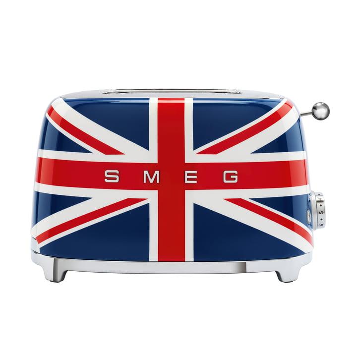 2-Scheiben Toaster TSF01 von Smeg in union jack