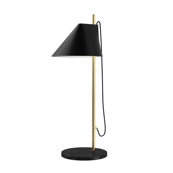 Yuh Tischleuchte LED von Louis Poulsen in Messing / schwarz