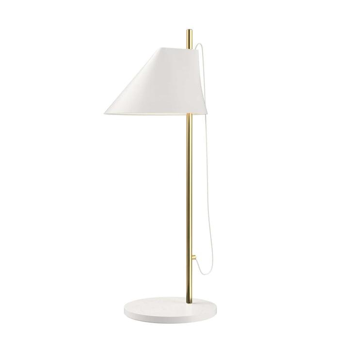 Yuh Tischleuchte LED von Louis Poulsen in Messing / weiß