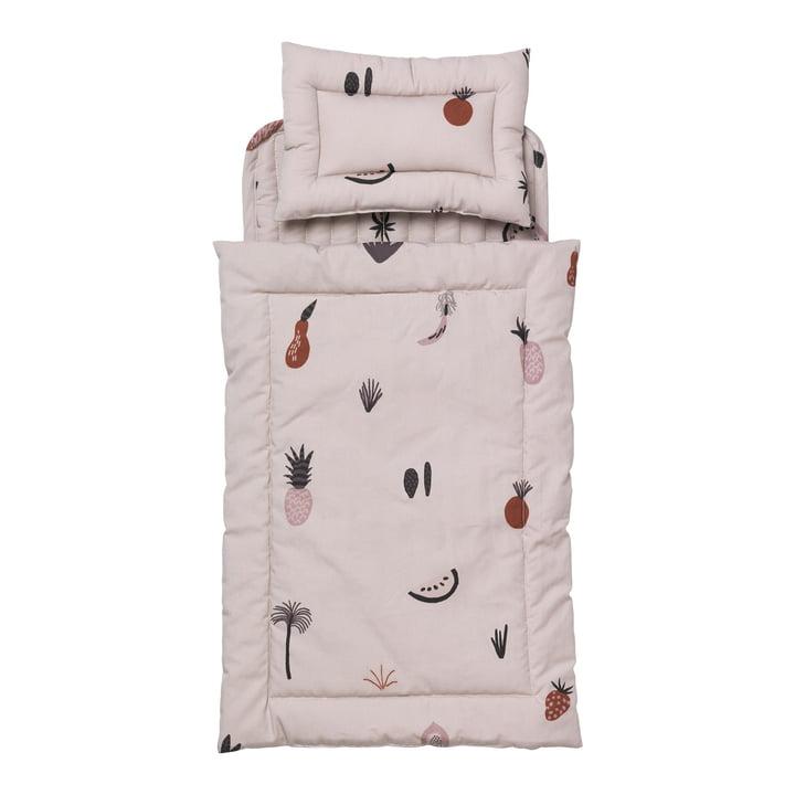 Fruiticana Bettwäsche für Kuku Puppenbett von ferm Living