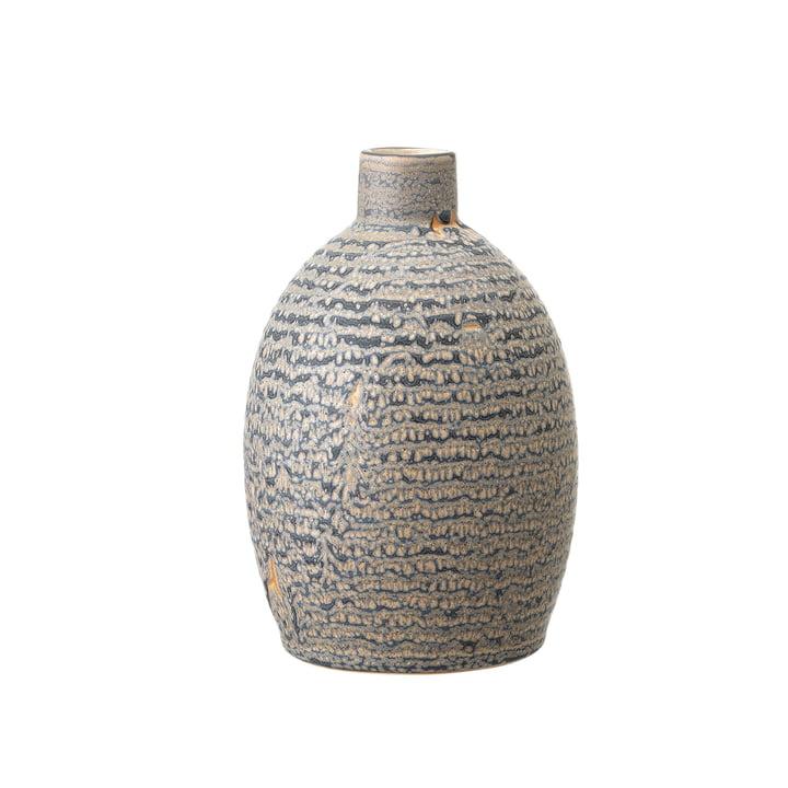 Steingut Vase Ø 11 x H 16 cm von Bloomingville in grau