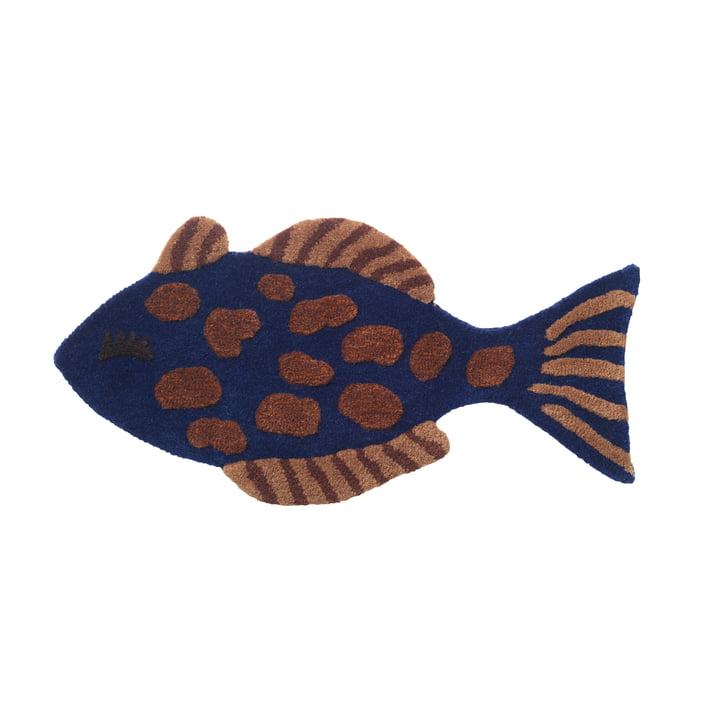"""Kinderzimmer- / Wandteppich """"Fisch"""" von ferm Living in multi"""