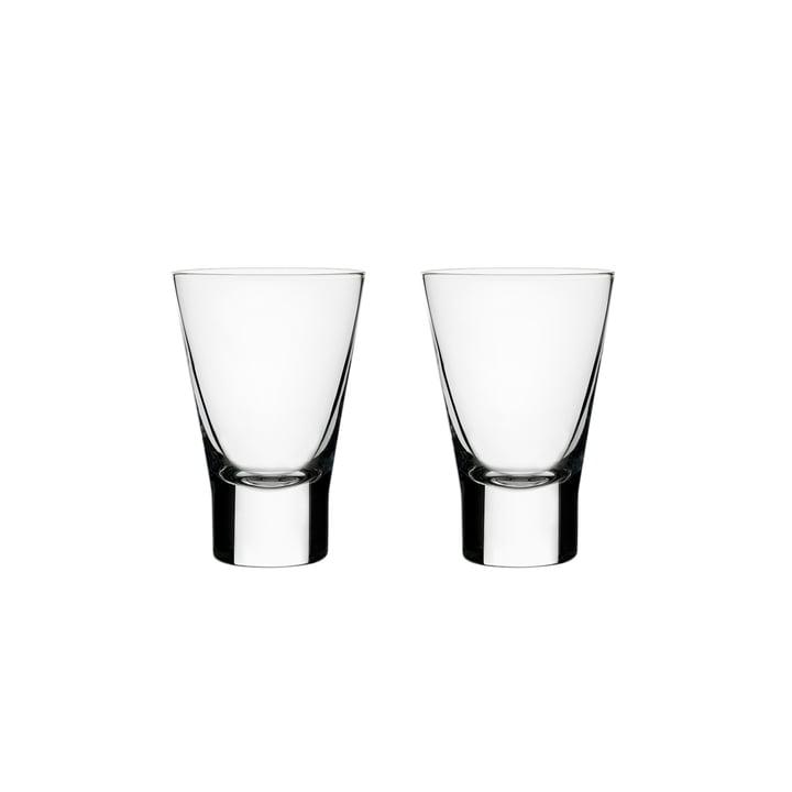 Aarne Schnapsglas 5 cl (2er-Set) von Iittala