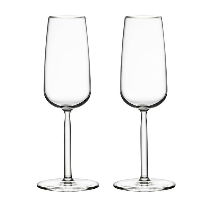 Senta Champagner-Glas 21 cl  (2er-Set) von Iittala