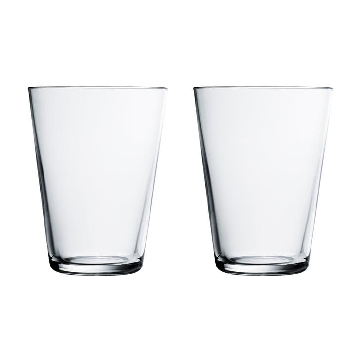 Kartio Trinkglas 40 cl (2er-Set) von Iittala in klar