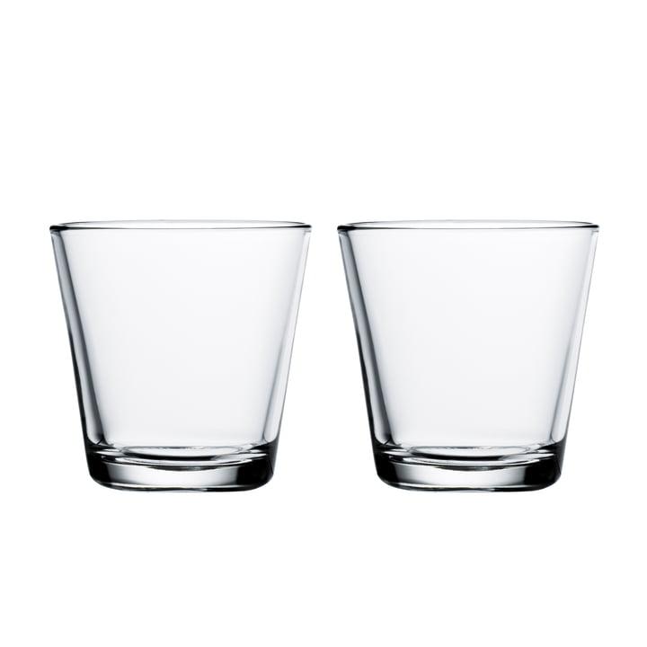 Kartio Trinkglas 21 cl (2er-Set) von Iittala in klar