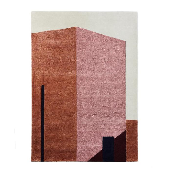 Arqui Teppich 1, 170 x 240 cm, indian red / pfirsich von Please wait to be seated