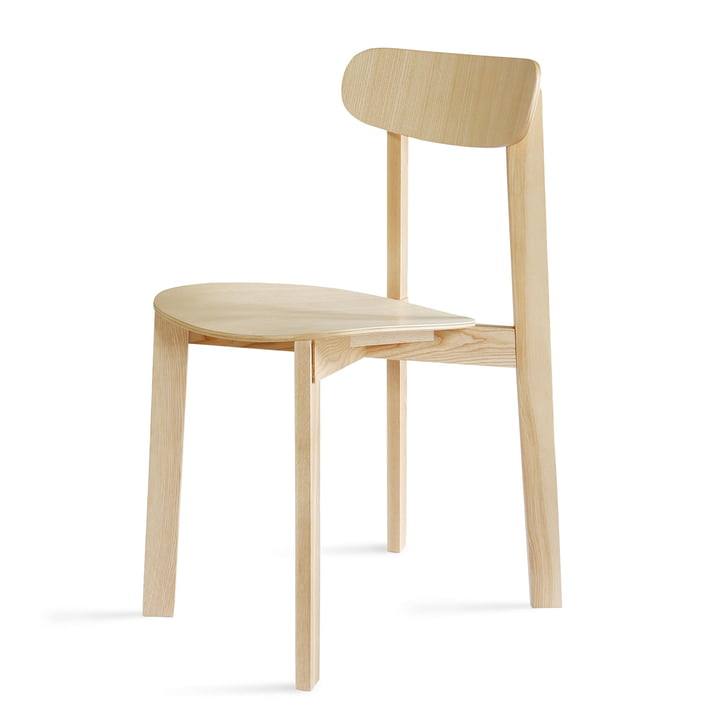 Bondi Chair in Esche matt lackiert von Please wait to be seated