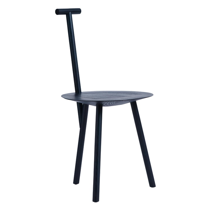 Spade Chair in navy blue von Please wait to be seated