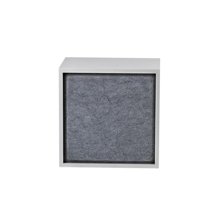 Stacked Acoustic Panel, medium in grey melange von Muuto