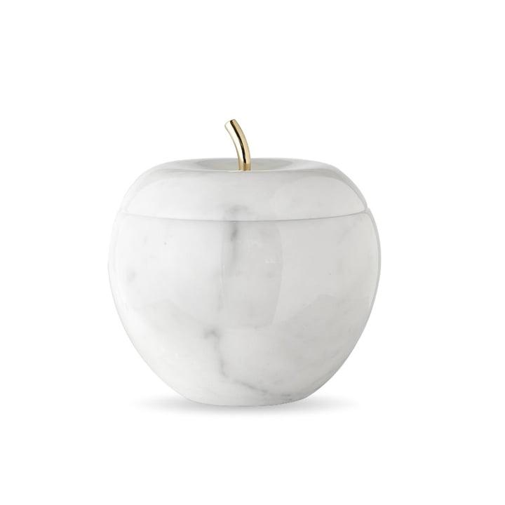 Snow White Schmuckschatulle in weiß / Gold von Opinion Ciatti
