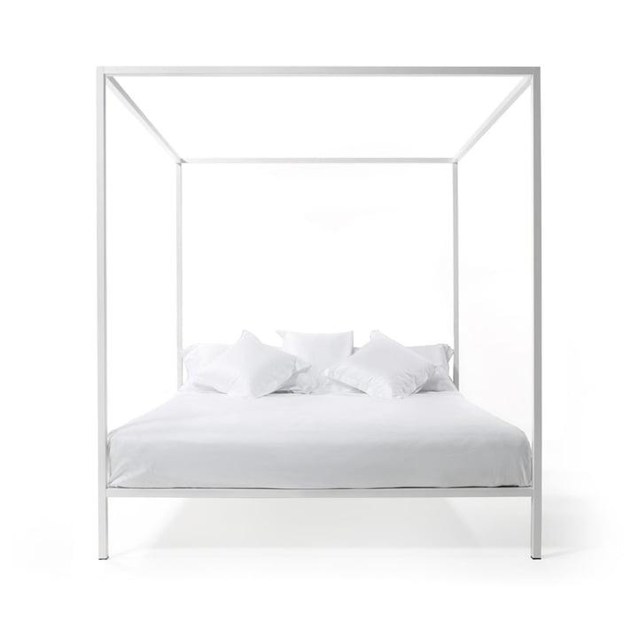 ILletto Himmelbett ohne Kopfteil, 160 x 200 cm in weiß von Opinion Ciatti