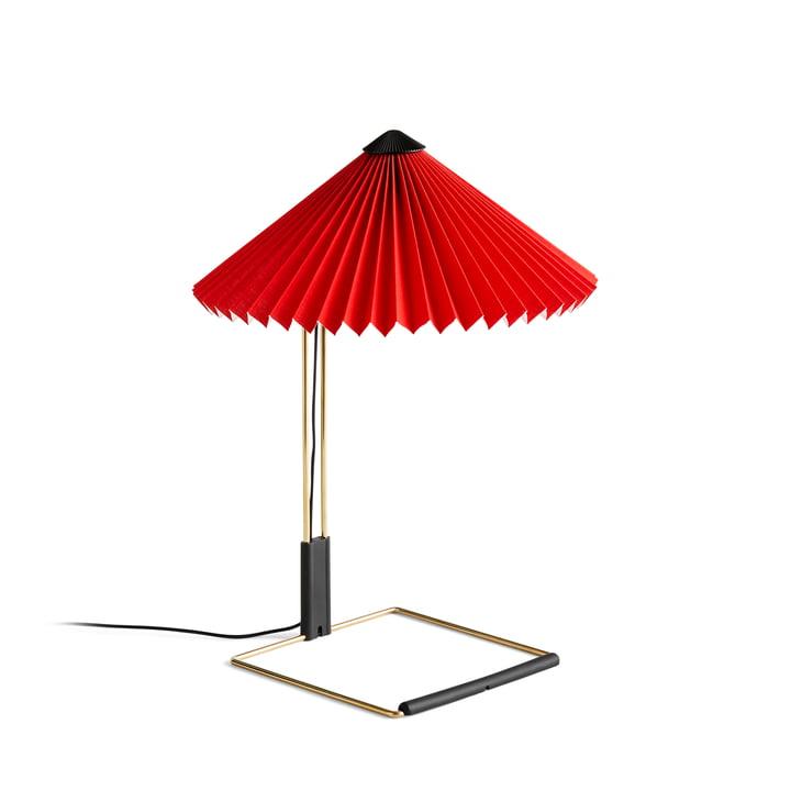 Matin LED Tischleuchte S, bright red von Hay