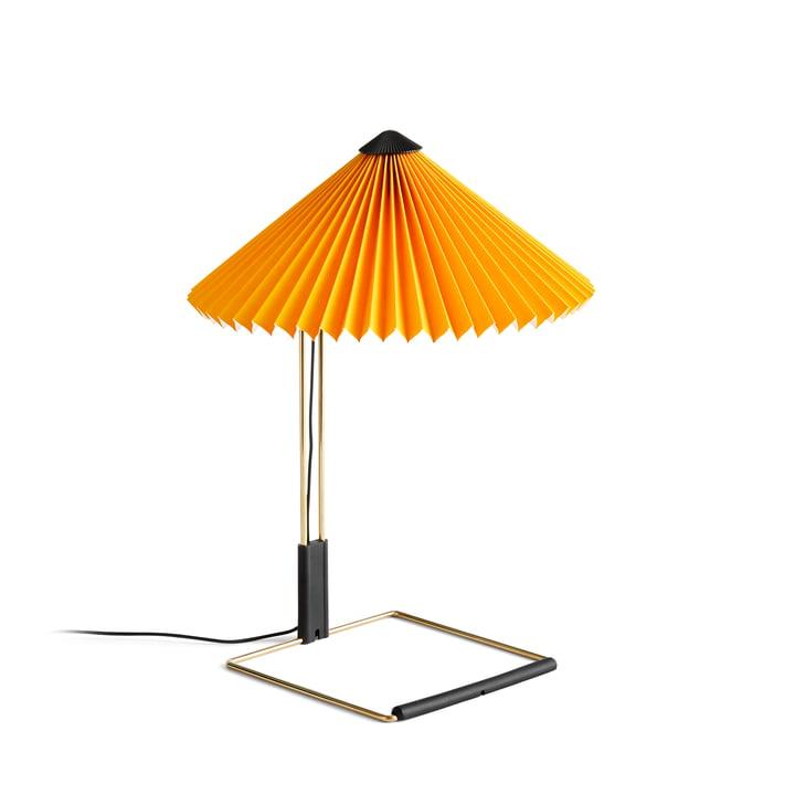 Matin LED Tischleuchte S, gelb von Hay