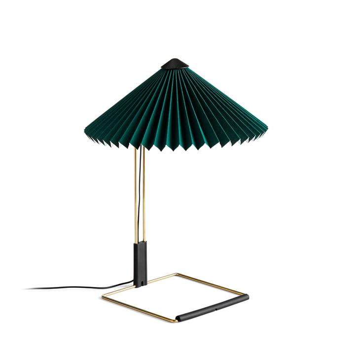 Matin LED Tischleuchte S, grün von Hay