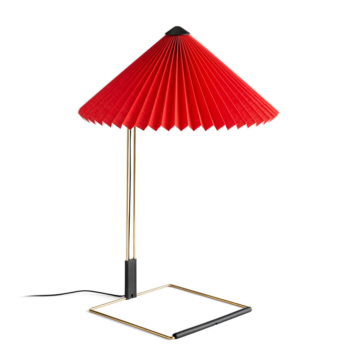 Matin LED Tischleuchte L, bright red von Hay