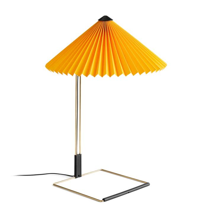 Matin LED Tischleuchte L, gelb von Hay