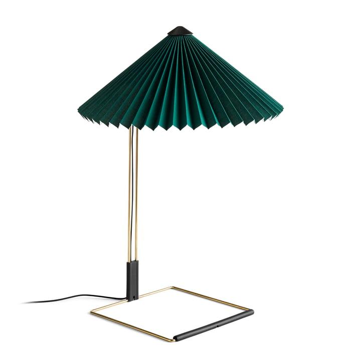 Matin LED Tischleuchte L, grün von Hay