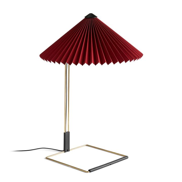 Matin LED Tischleuchte L, oxidrot von Hay