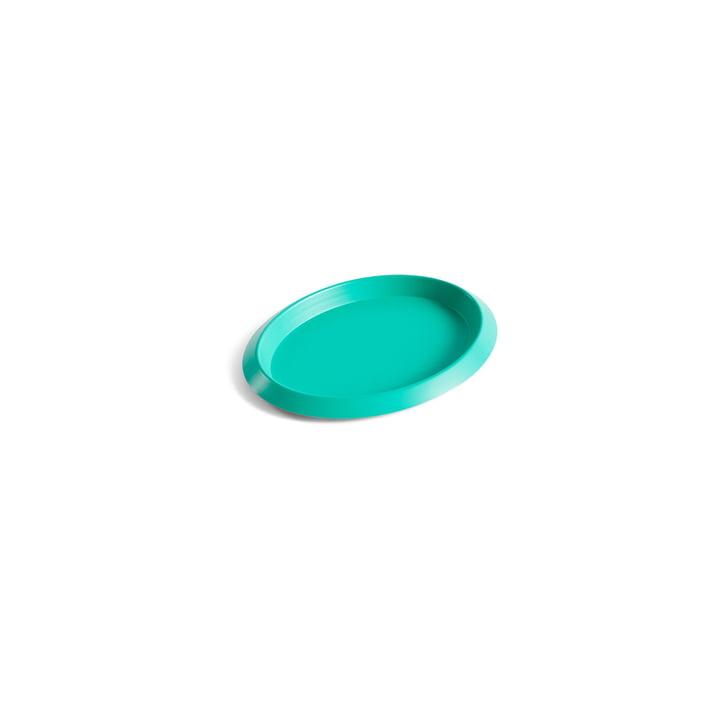 Ellipse Tray XS in grün von Hay