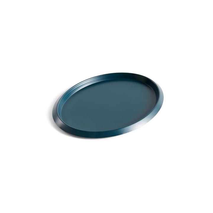 Ellipse Tray S in dunkelgrün von Hay