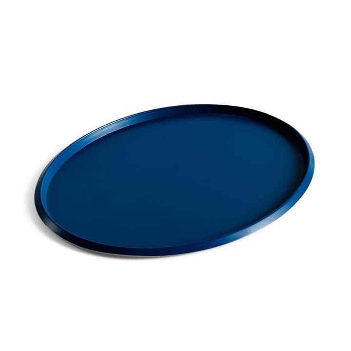 Ellipse Tray L in blau von Hay