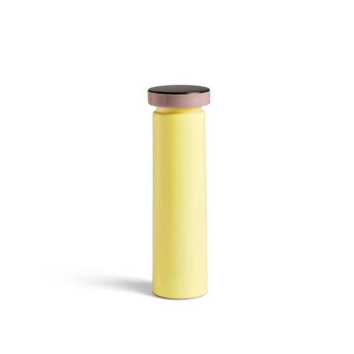 Sowden Salz- und Pfeffermühle M, Ø 6 x H 20 cm in gelb von Hay