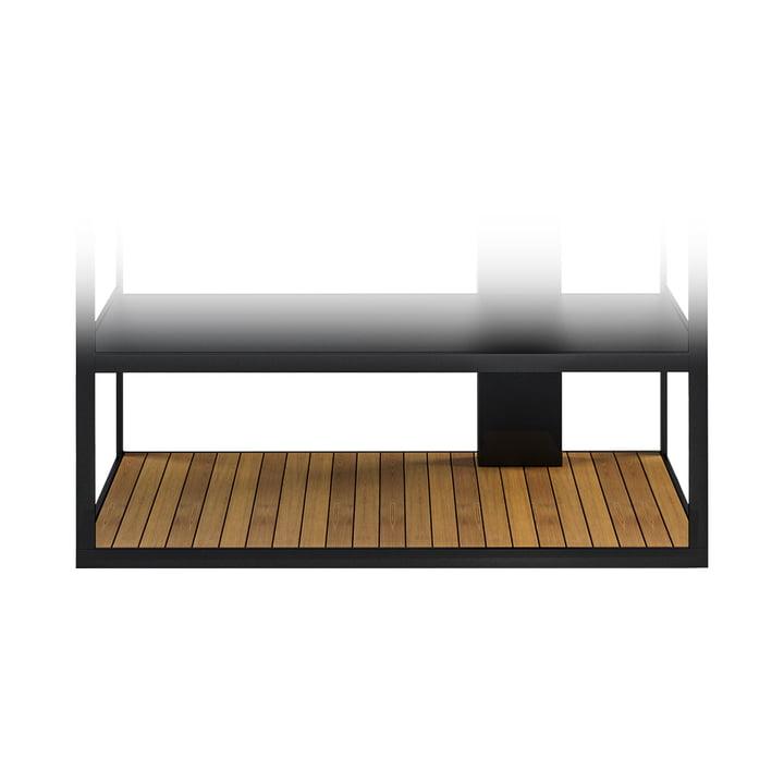 Teakboden für Open Kitchen 100 BBQ Kombi und Sideboard von Röshults