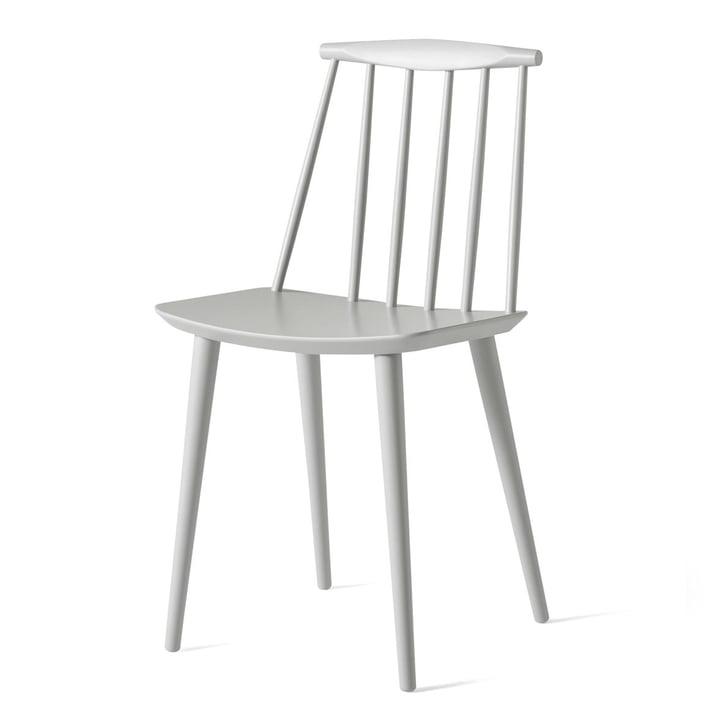 J77 Chair von Hay in dusty grey