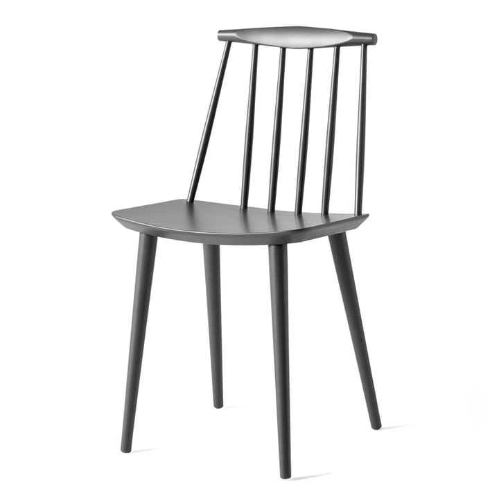 J77 Chair von Hay in stone grey