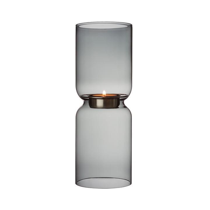 Lantern Kerzenleuchter 250 mm vom Iittala in dunkelgrau
