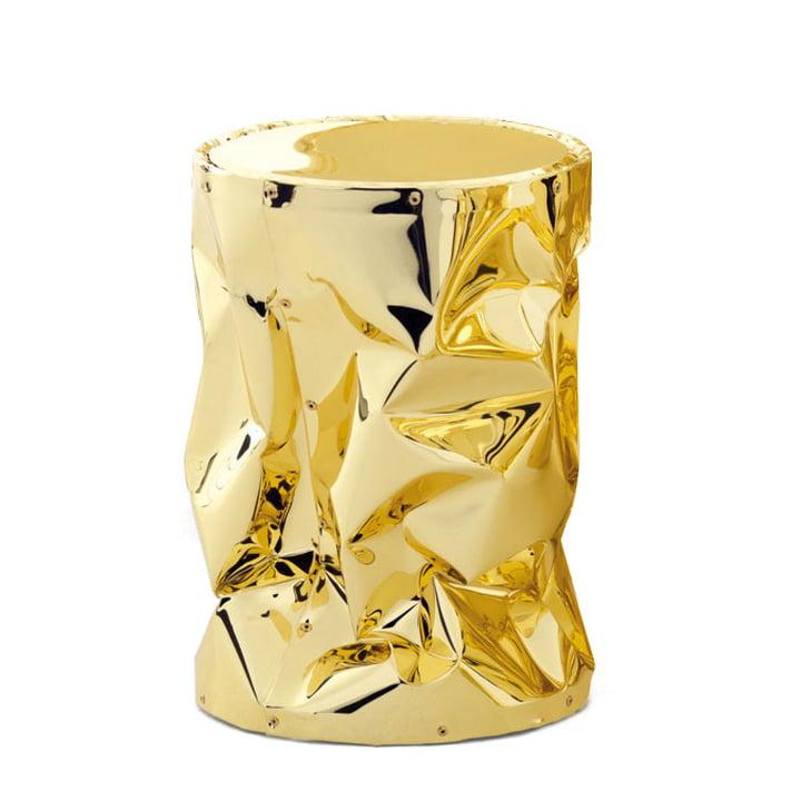 Tab.u Collection Beistelltisch / Hocker H 43 Ø 30 cm von Opinion Ciatti in Gold