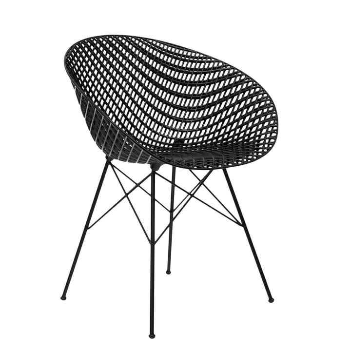 Smatrik Stuhl in schwarz von Kartell