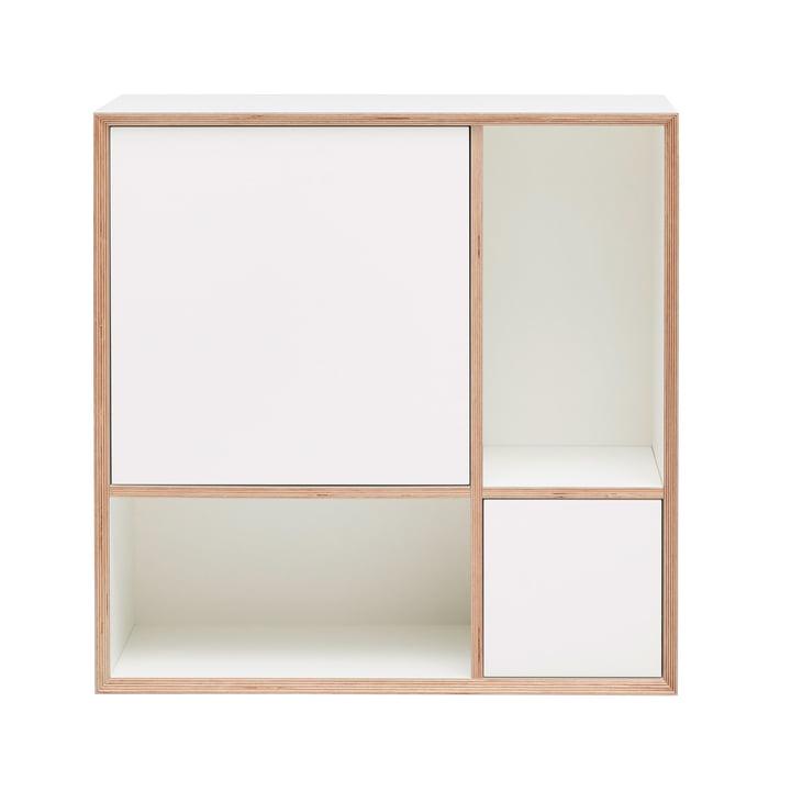 Vertiko Ply Sideboard Two von Müller Möbelwerkstätten in CPL reinweiß (RAL 9010)