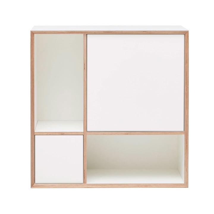 Vertiko Ply Sideboard Four von Müller Möbelwerkstätten in CPL reinweiß (RAL 9010)